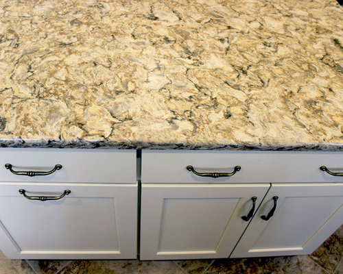 Century Home White Kitchen Remodel ~ Akron, OH - Kitchen Countertops
