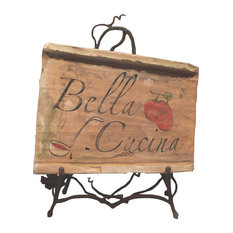 Painted Decorative Tile, Bella Cucina
