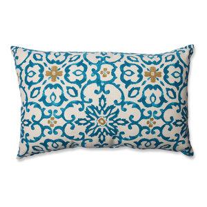 Souvenir Scroll Rectangular Throw Pillow
