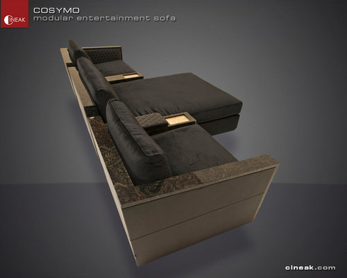 Media Room and Home Theater Sectional Sofa by Cineak - Sectional Sofas : home theater sectional sofas - Sectionals, Sofas & Couches