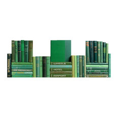 Midcentury Boxwood Book Wall, S/50