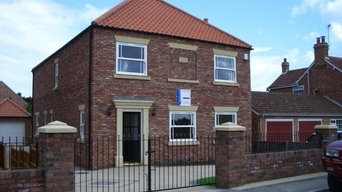 Three new houses