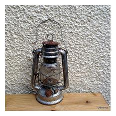 Rustic Oil Lamp Vintage Lantern by Blackspur