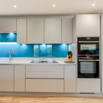 High-Tech Nobilia Kitchen in Horsham, West Sussex