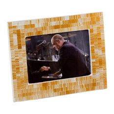 "Ora Blanca Mosaic Frame, 8""x10"""