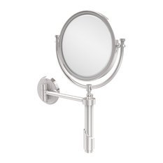 """Tribecca Collection Wall Mounted 8"""" Mirror, 5X Magnification, Polished Chrome"""