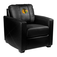 Chicago Blackhawks NHL Silver Chair
