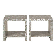 shell coffee tables | houzz