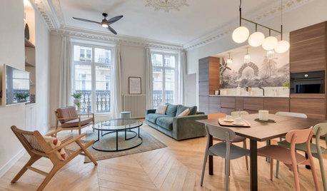 Avant/Après : Un office notarial se mue en appartement familial