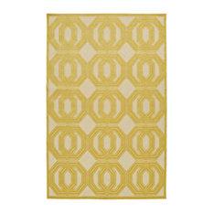 "Kaleen Five Seasons Area Rug, Gold, Fsr103-05, 3'10""x5'8"""