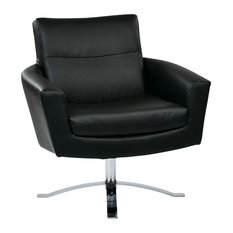 Superieur Office Star Products   Nova Chair With Black Faux Leather By Ave 6    Armchairs And