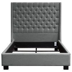 Transitional Platform Beds by Diamond Sofa