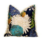 Flower Cotton Pillow Cover