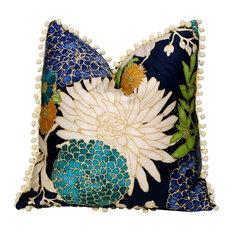 PillowFever - Flower Cotton Pillow Cover - Decorative Pillows