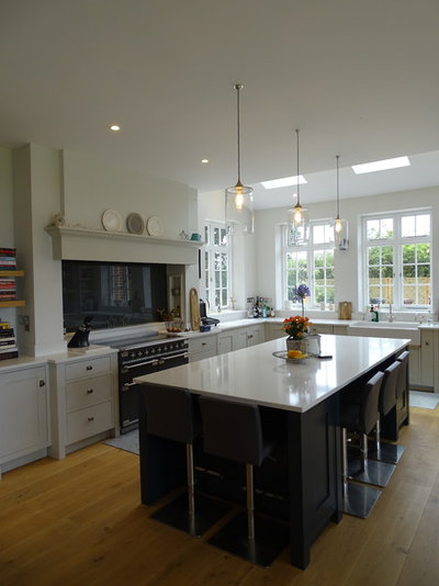 Contemporary Kitchen by Lighting By Plum
