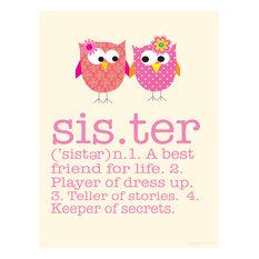 """Sister Print, 8"""""""