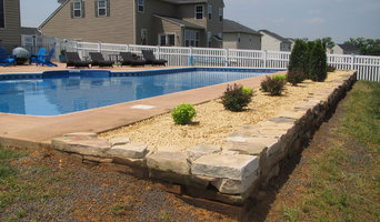 Hardscape Design and Install Swimming Pool