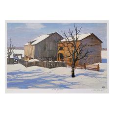 """""""Old Keefer Barn"""" Artwork"""