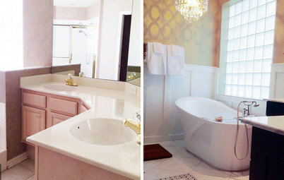 Elegant Before and Afters Reader Bathroom From Blah to uAah u in a Florida Makeover