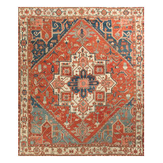 """Traditional Antique-Style Hand Woven Rug, 9'11""""x11'8"""""""
