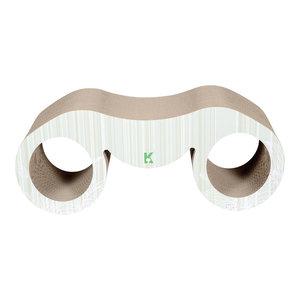 Binocular Ultra Premium Modern Exquisite Contoured Cat Scratcher