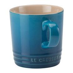 Le Creuset Stoneware Mug, 350 ml, Marseille Blue
