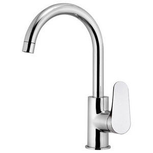 Class Line Chrome Plated One-Hole Kitchen Sink Mixer, 29.20 cm