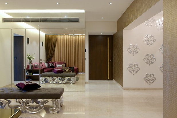 Contemporary Living Room by The Ashleys