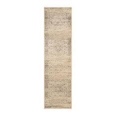 """Safavieh Vintage Warm Beige Traditional Rug, Runner 2'2""""x12'"""