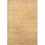 nuLOOM - nuLOOM Hand Woven Hailey Jute, Natural, 9'x12' - The durable Woven Handwoven Jute Rug makes a big impact, yet leaves a small footprint. Use it in high-traffic areas, such as living spaces and hallways, to provide cushion underfoot and protect floors. With warm coloring and natural fibers, the design updates indefinitely to reflect current trends.