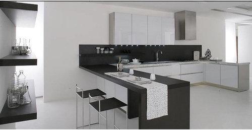 le cucine moderne, Disegni interni