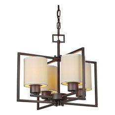 Forte Lighting 2570-04-32 4LT Chandelier