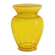 La Boheme Stool and Vase by Kartell, Yellow, La Boheme 3