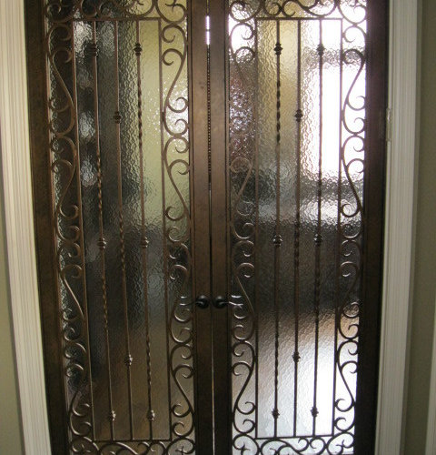 Amazing Wrought Iron Interior Doors   Products
