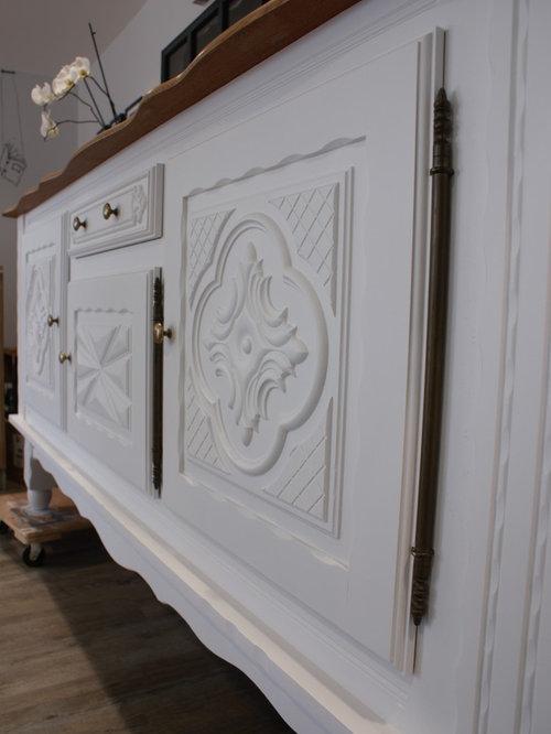 Relooking de meubles de salle manger de style basque for Salle a manger style basque