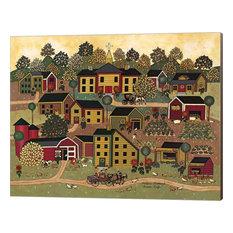 """Farm Life"" Canvas Wall Art by Medana Gabbard, 16""x13"""