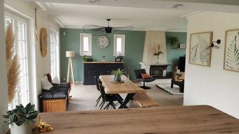 Salon/salle à manger/cuisine