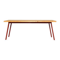 Valkenburg Red Dining Table, Extra Large