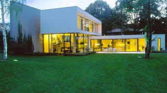 Villa eines Kunstsammlers