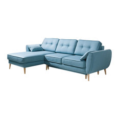 CANDY Sectional Sofa-Bed Left Corner