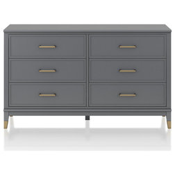Contemporary Dressers by Dorel Home Furnishings, Inc.