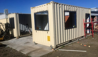 Converting container to a personnel Gym