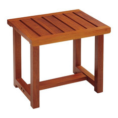 Conair Solid Teak Spa Bench Shower Benches Seats