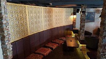 Hookah Bar ,coffee shop decor