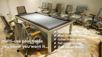 Multi Use Pool Tables- combo with Dining Tables and TT Tables
