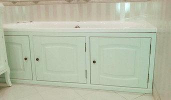 Ванная комната светлых тонов