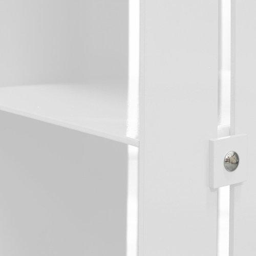 Manhattan Cabinet Hylla, Vit - Pynte kiste & skabe