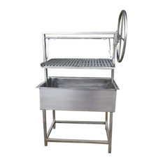 """Residence - Big Sur Santa Maria Style Barbecue, 36"""" - Outdoor Grills"""