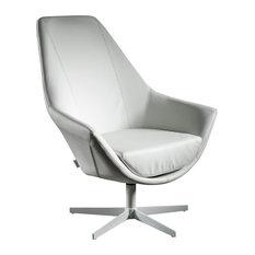 Ravenna Swivel Armchair, White