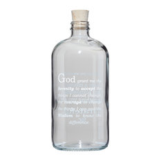 """""""God, Grant Me The Serenity"""" Clear Apothecary Jar"""